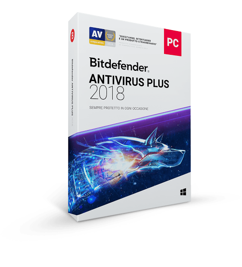 Bitdefender Antivirus Plus 2019 3 PC