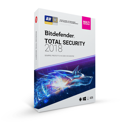 Bitdefender Total Security 2019 3 Dispositivi