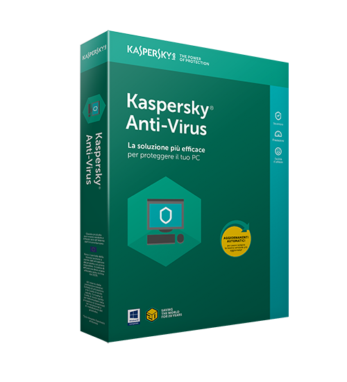 Kaspersky Antivirus 2019 3 PC