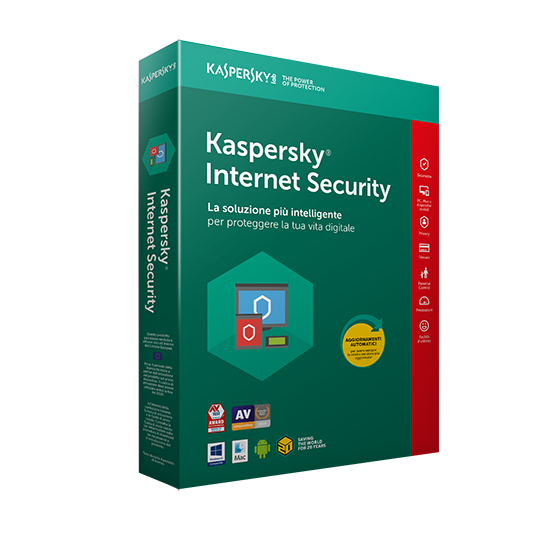 Kaspersky Internet Security 2020 5 Dispositivi