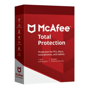 McAfee Total Protection 2020 5 Dispositivi 1 Anno ESD